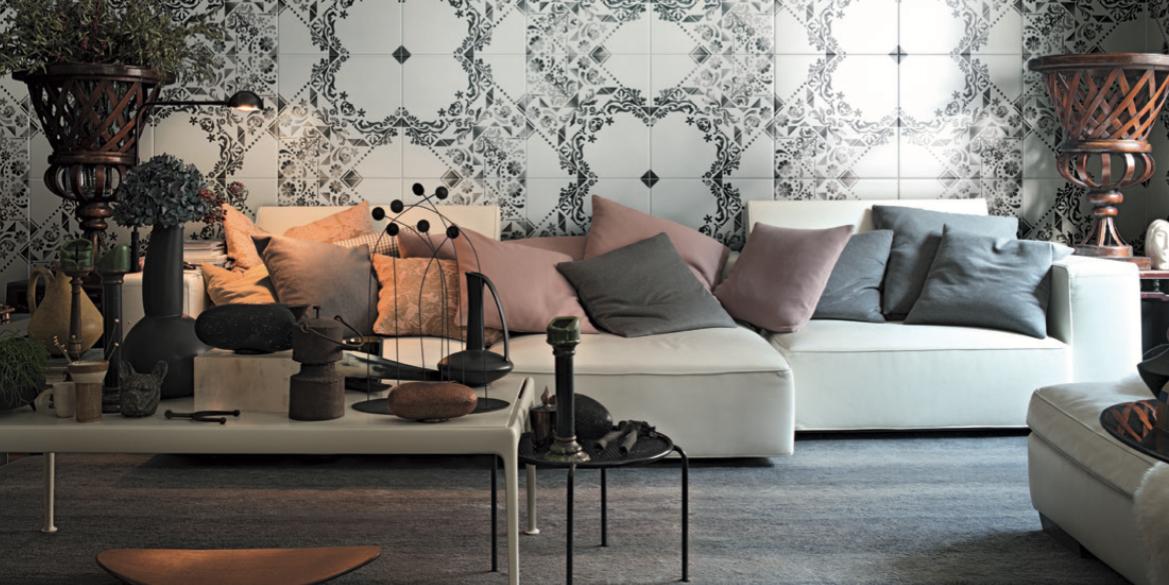 le carrelage graphique 7 inspirations jdo carrelage bains pertuis. Black Bedroom Furniture Sets. Home Design Ideas